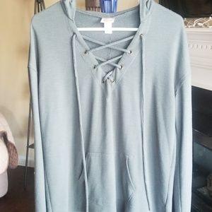 Mossimo hoodie shirt